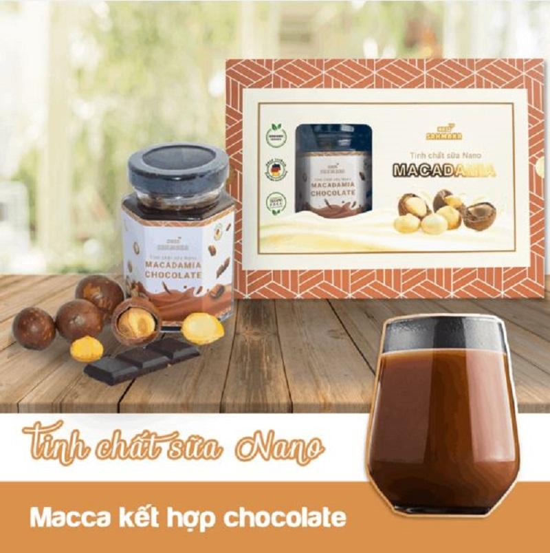 Tinh chất sữa Nano Sahmaka Chocolate an toàn cho bé trên 12 tháng tuổi
