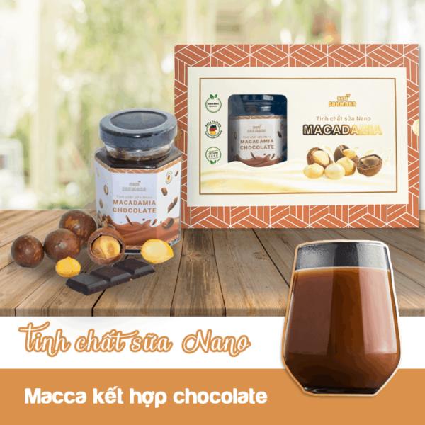 Tinh chất sữa Nano Sahmaka Chocolate hương vị tuyệt vời