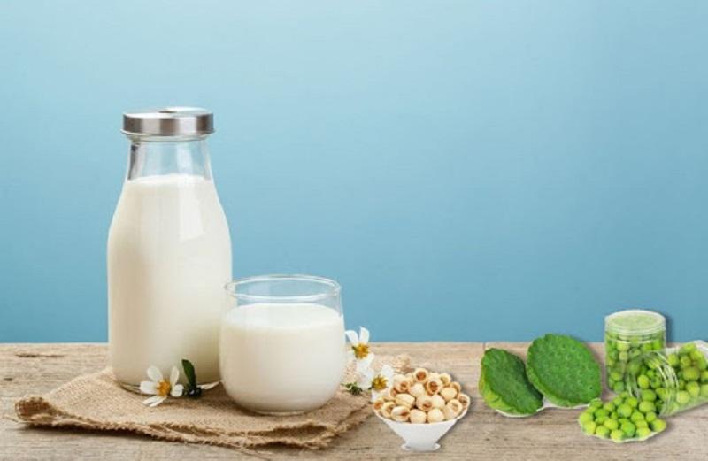 Khi sử dụng sữa hạt sen cho bé cần chú ý đến nhiệt độ của sữa