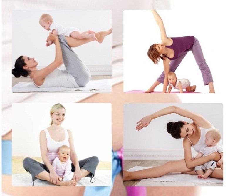 Sử dụng các bài tập thể dục hợp lý để giảm cân trong quá trình cho con bú