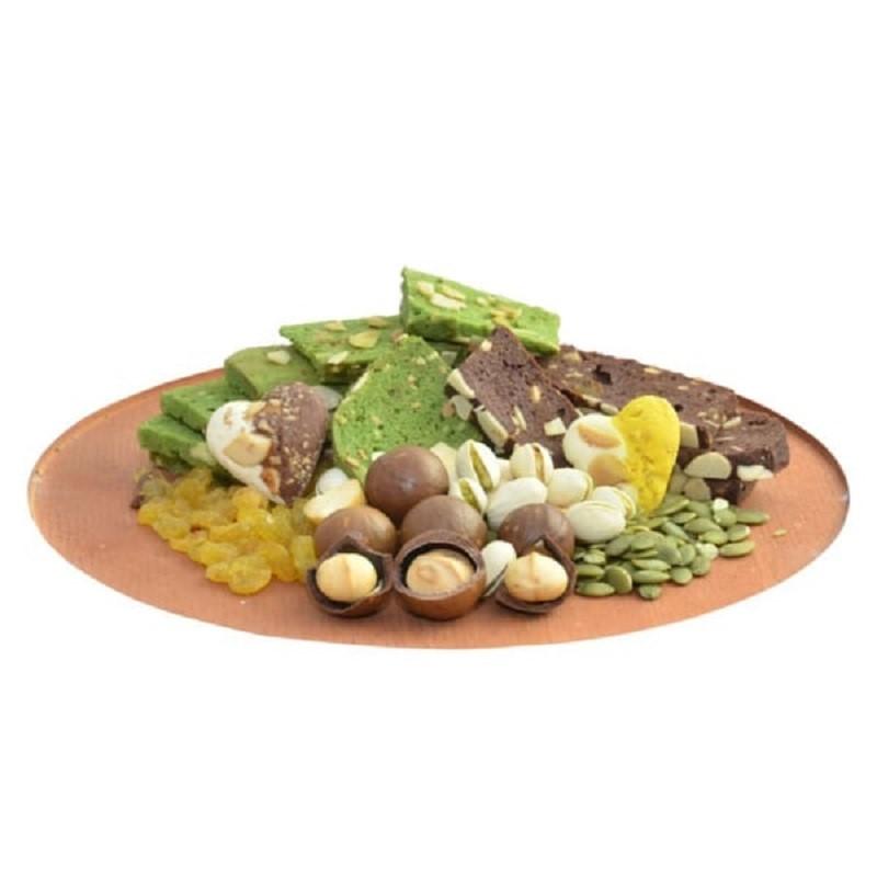 Bánh Marzipan Chocolate – Gừng là sự kết hợp hoàn hảo giữa bột bánh gato thơm mềm từ Pháp, bột hạnh nhân Marzipan và hỗn hợp các loại hạt ….tạo cảm giác thoải mái khi thưởng thức, nhất là việc hỗ trợ đốt mỡ thừa và cholesterol dư tác động tích cực đến quá trình giảm cân