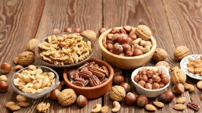 Các loại hạt khác nhau tốt cho việc giảm cân