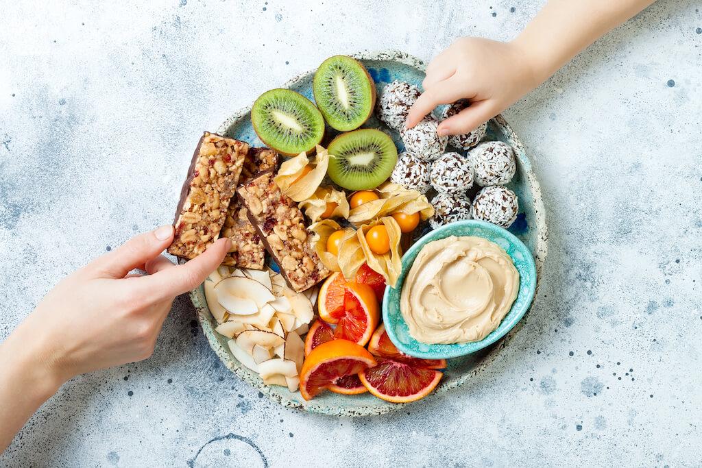 đồ ăn vặt cho người giảm cân