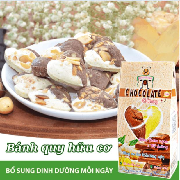 Bánh Chocolate & Gừng
