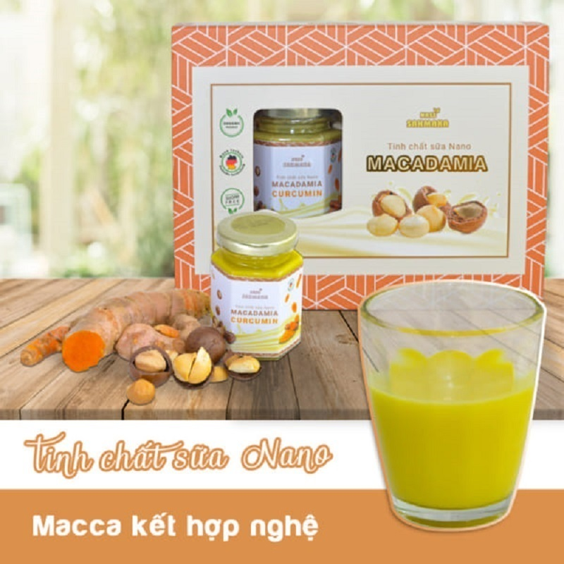 Tinh chất sữa hạt Nano Sahmaka Nghệ