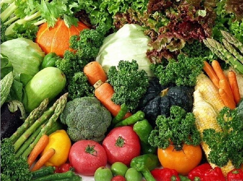 Bổ sung rau củ quả vào bữa ăn