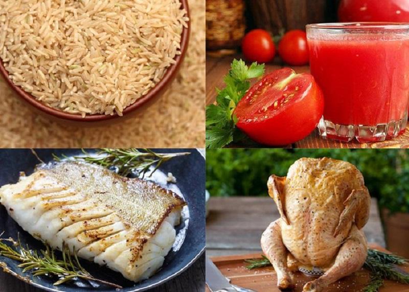 Thực phẩm giàu protein và chất xơ cho bữa ăn hằng ngày giúp cho việc giảm cân