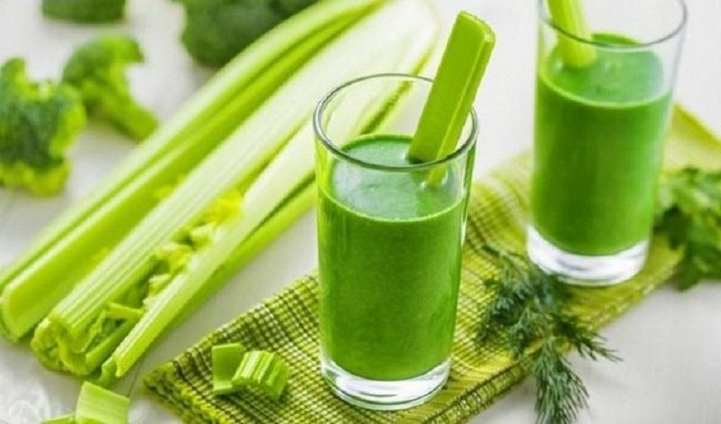 Nước ép cần tây chứa ít calo có tác dụng giảm cân