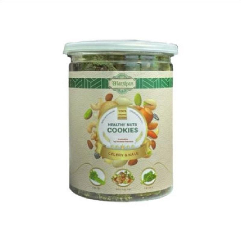 Bánh Marzipan vị Cần Tây, Cải Kale - Hỗ trợ giảm cân và cải thiện vóc dáng